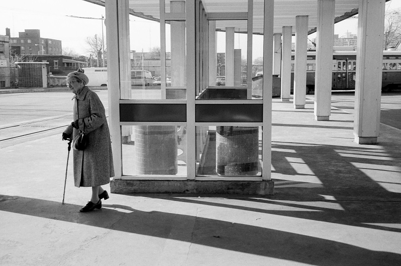 TTC, Dundas west station, Toronto, 1985,
