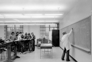 classroom, Ryerson, Toronto, 1982,
