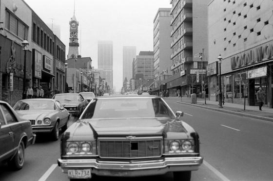 Yonge Street, Toronto, 1981