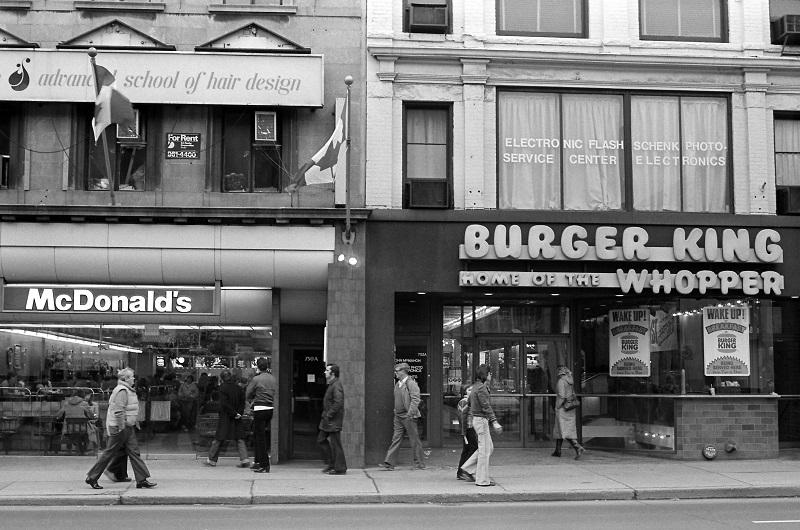 Yonge Street, Toronto,1981