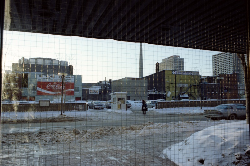 View from Ryerson Business Building, Toronto, 1982