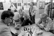 speed chess, Yonge and Gould, Toronto, 1982