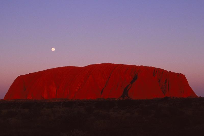 Uluru / Ayers Rock, Australia,1989