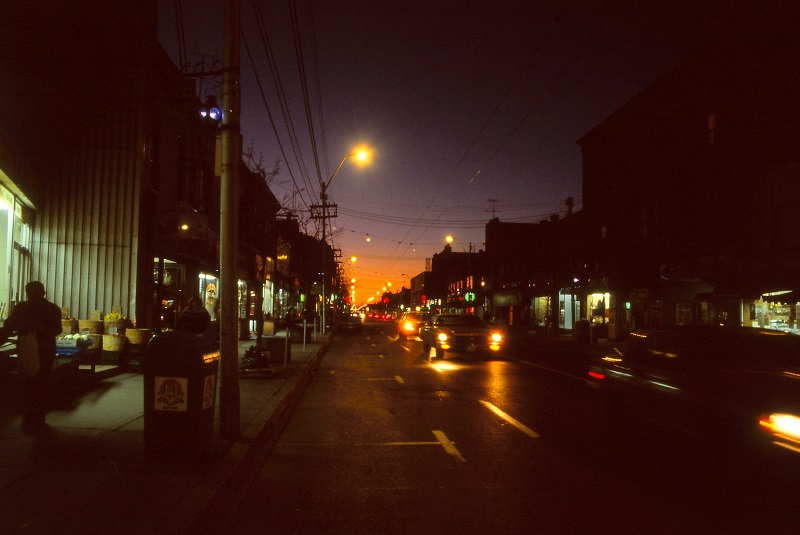 Dundas West and Medland, Toronto, 1984