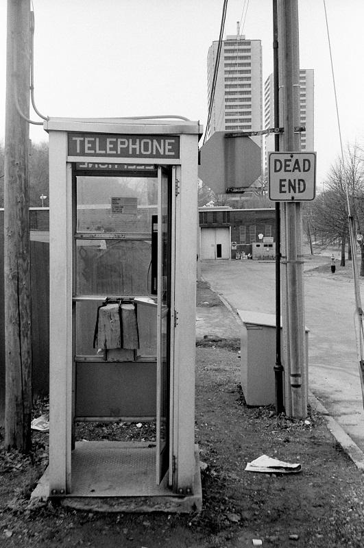 Phone Booth, Toronto,1984