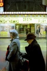 Rio Theatre, Yonge Street, Toronto, pedestrians, 1982
