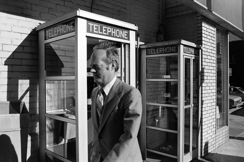 Phone Booths, Toronto, 1980