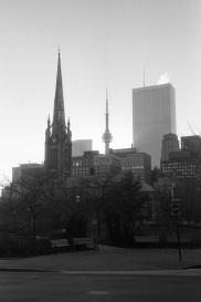 Toronto skyline, 1986,