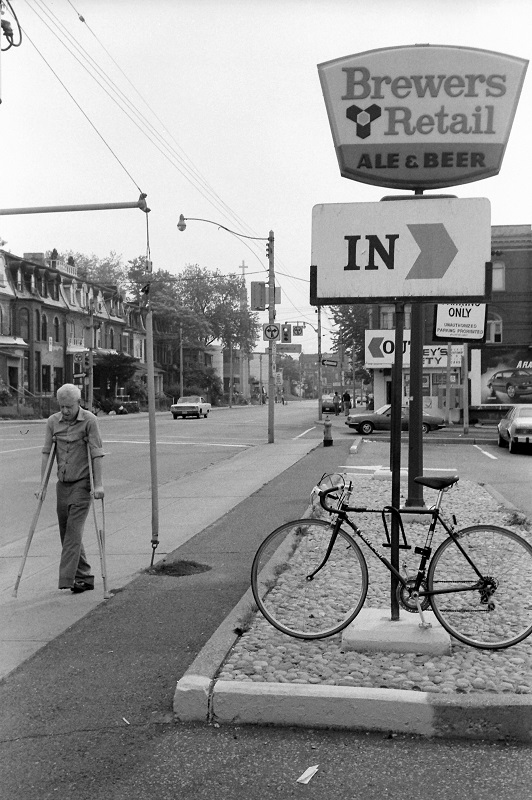 Gerrard East and Seaton, Toronto, 1984