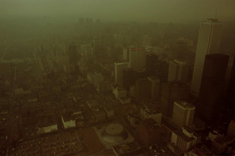 toronto, aerial view,