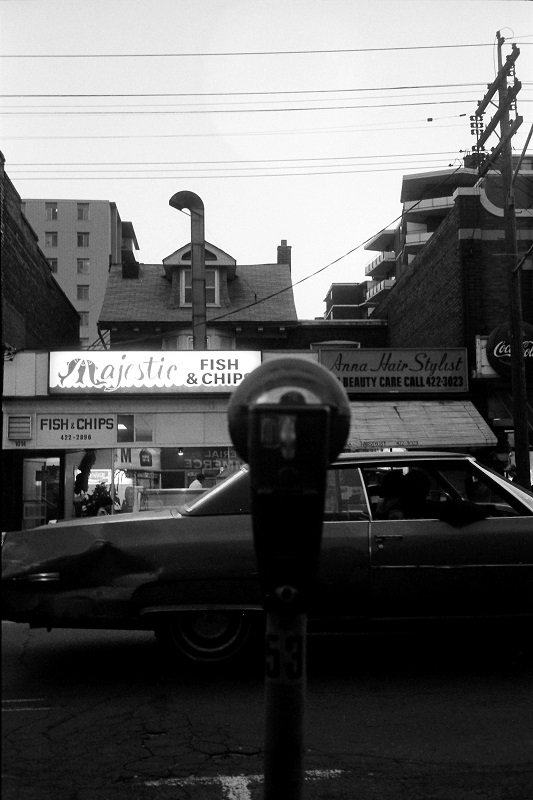 Toronto, street, 1986