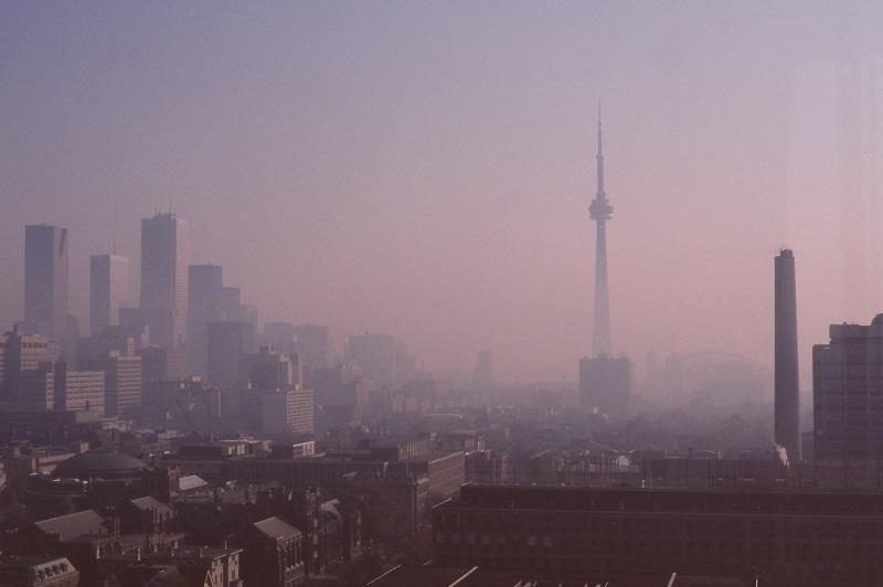 Toronto Skyline, 1989