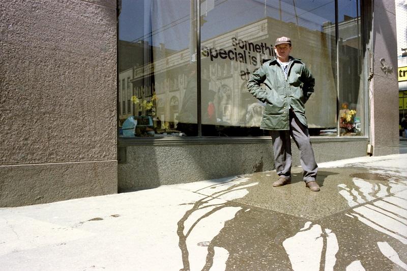 Toronto, 1982, street portrait,