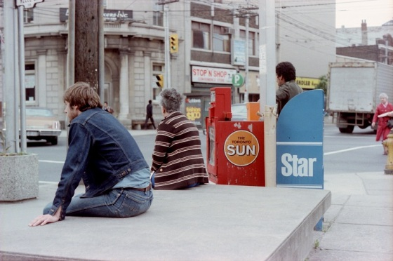 Toronto, 1983, colour, Dundas and Keele,