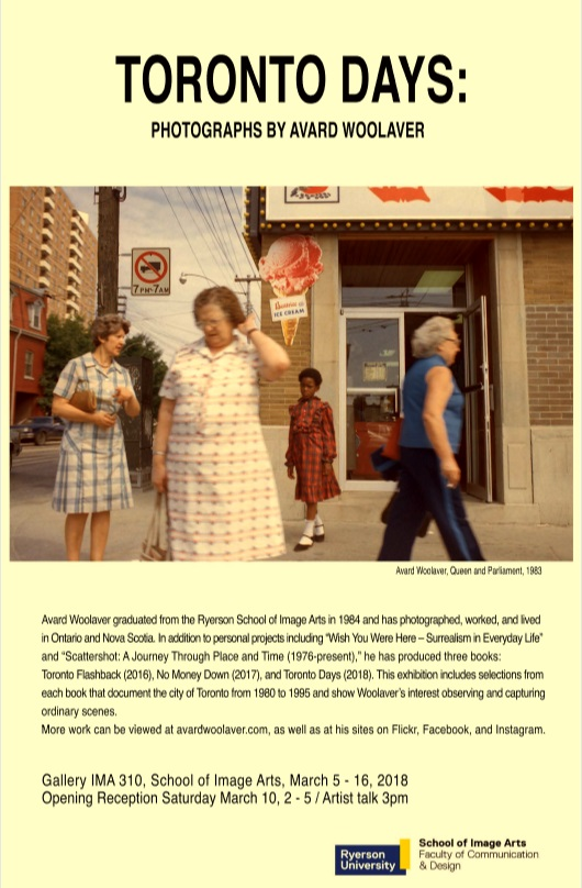 Toronto Days: photographs by AvardWoolaver