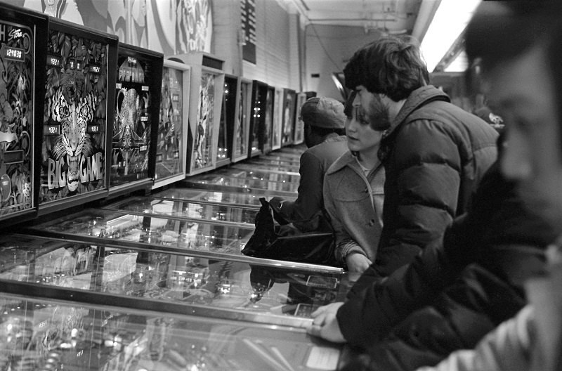 Funland Arcade, Yonge Street, Toronto,1981