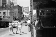 Toronto Days, Toronto, 1985, street photography, Yonge Street, film photography, self portrait,