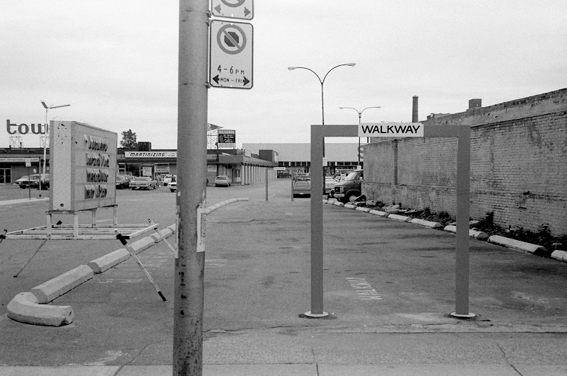 Dundas West near Bloor, Toronto, 1984