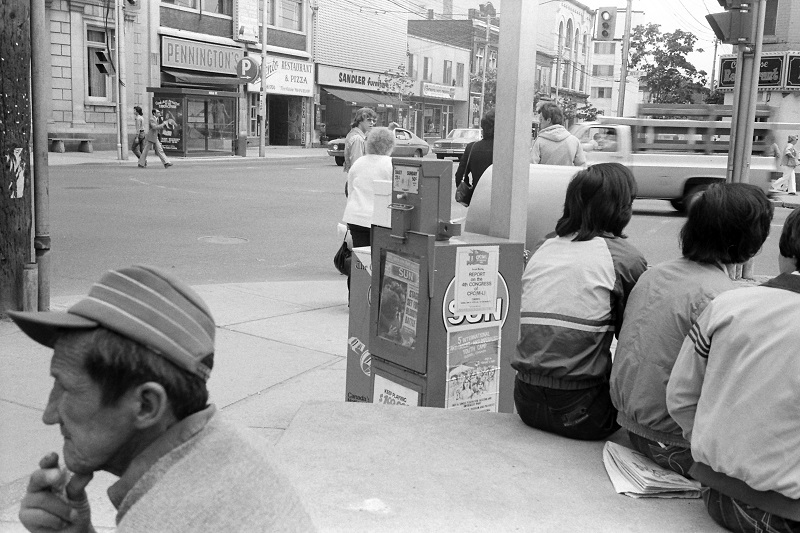 Dundas West and Keele, Toronto, 1982