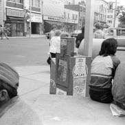 Avard Woolaver, Toronto, Toronto Days, 1982, street photography,