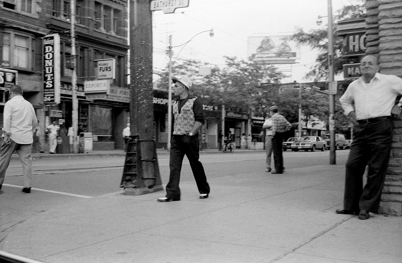 Queen and Bathurst, Toronto, 1983